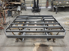 Framing for truck bed